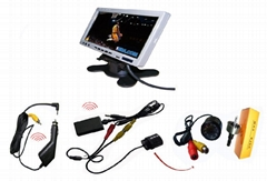 wireless audio video transmitter receiver system