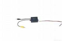 Long range wireless video transmitter for bus truck and trailer