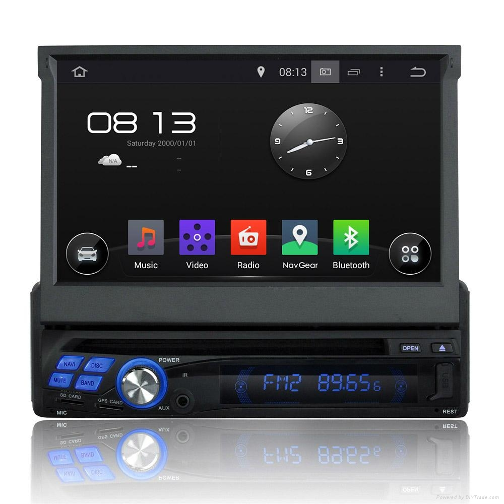 android car radio 1 din with wifi 3g mirror link quad core. Black Bedroom Furniture Sets. Home Design Ideas
