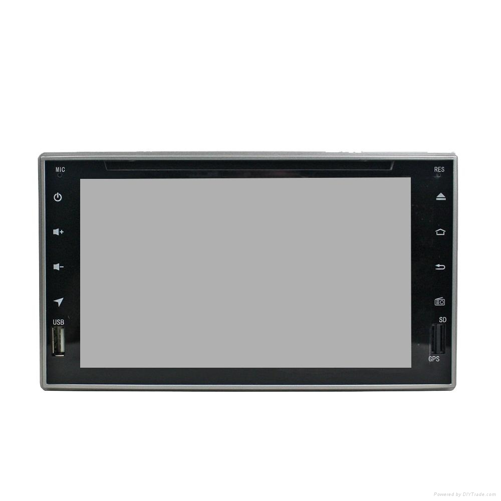 Android car dvd player with 5.1.1 system WIFI 3G QUAD-CORE 4