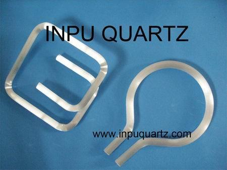 milky quartz tube with any sharp  1