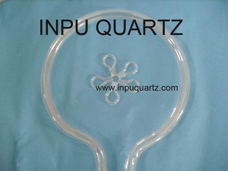 milky quartz tube with any sharp  4