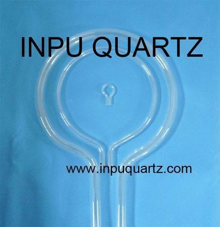 Milky quartz tube for heater with any sharp 4