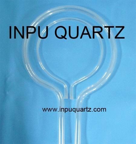 Milky quartz tube for heater with any sharp 5