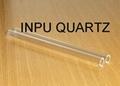 quartz glass sleeve and one end sealed quartz tube 2