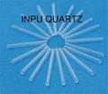 quartz glass sleeve and one end sealed quartz tube 3