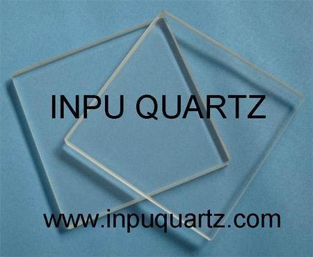 Quartz glass plate 1