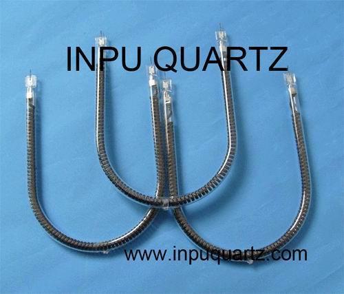 Carbon fiber quartz heater elements with C -sharp  2