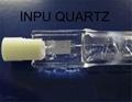 halogen quartz tubing and quartz halogen