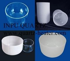 Quartz glass ware with a