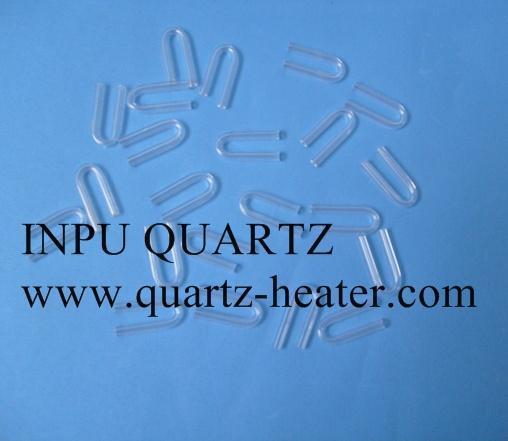 U sharp quartz tube 1