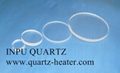 Quartz plate and quartz sheet and quartz