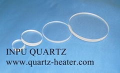 Quartz plate and quartz sheet and quartz disc