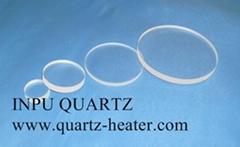 Quartz plate and quartz sheet and quartz disc