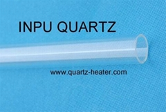 Fused quartz tubing and fused quartz tube