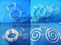 spiral quartz tube(helix ,spring)