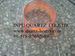spiral carbon fiber quartz heater lamp