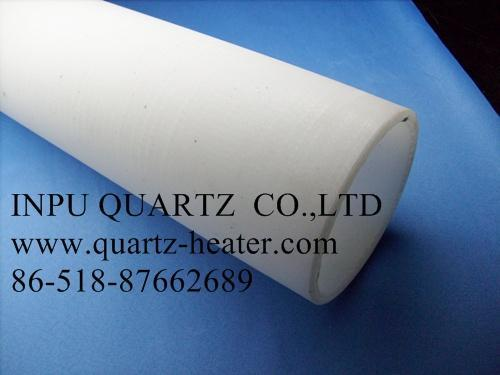 Fused quartz tube with further processing  3