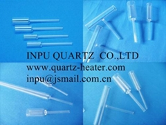 Quartz body with fused quartz tube