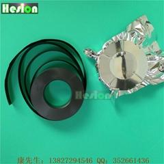 PE黑色導電載帶|防靜電PCB線路板保護帶|黑色導電卷膜PE