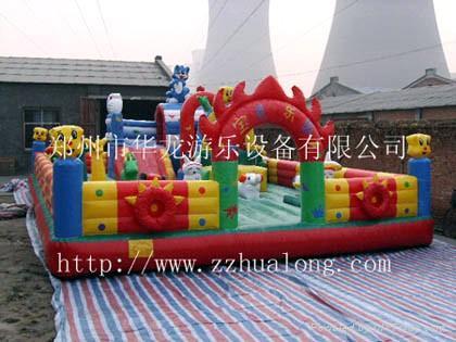 充气气模玩具 1