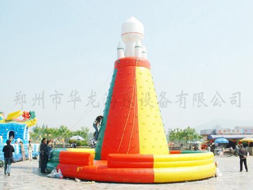 充气气模玩具 4