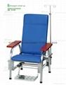 不锈钢可躺输液椅YY-1101