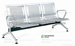 不鏽鋼等候椅WG-523