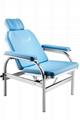 不鏽鋼可躺輸液椅 醫用皮革豪華