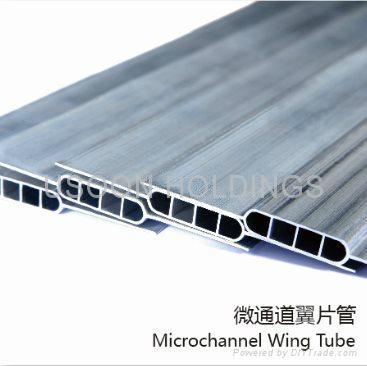 Micro Channel Aluminum Flat Tube 15 Ush China