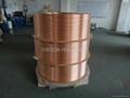 Level wound copper coil