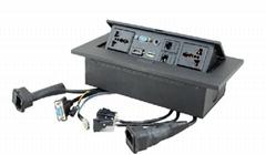 K530J 多功能桌面插座/直通式桌面接線盒(高清HDMI接口)
