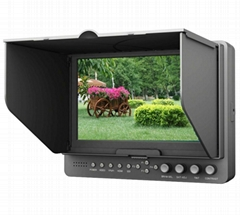 7Inch LCD Video Camera Monitor with HDMI YPbPr AV Input