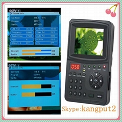 2016 best satellite finder DVBS2 MPEG4 signal meter