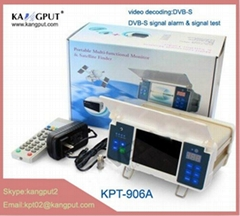 Manufacturer for portable Digital Type and Yes FTA DVB-S Satellite Finder Meter