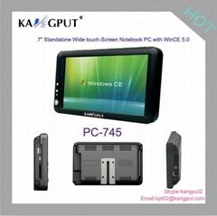 7寸液晶宽屏触摸嵌入式系统 带正版WinCE5.0