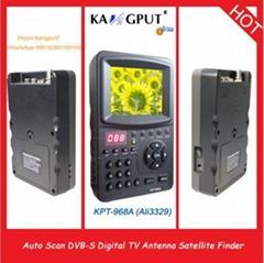 With 1 year warranty sat TV finder receiver DVB-S