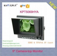 5Inch LCD Video Camera Monitor with HDMI YPbPr AV Input