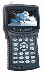 KPT-955G+  (尋星儀高清信號測試+同軸AHD/模擬攝像頭顯示)