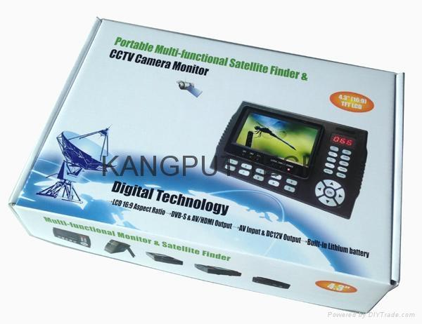数字显示寻星仪KPT-958H解码DVB-S2 MPEG4 3