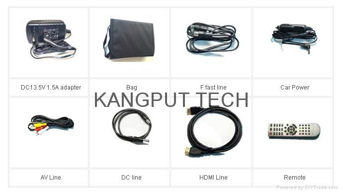 数字显示寻星仪KPT-958H解码DVB-S2 MPEG4 4