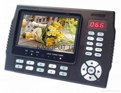 Stocks For KPT-958H 4.3 Inch TFT LED Monitor DVB-S/ DVB-S2 HD Portable Sat Finde