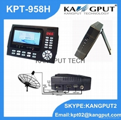 Factory Price HD Putout Satellite Finder For Signal Test & Signal Alarm KPT-958H
