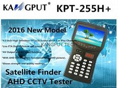 4.3 Inch CCTV Test + HD Signal Meter Satellite Finder