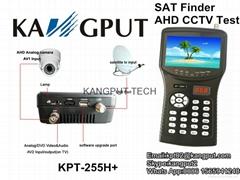 HD Output Satellite Finder AHD CCTV Test Meter KPT-255H+