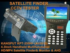 2016 New SAT Finder DVB-S/S2 MPEG4 + AHD Test Funcation