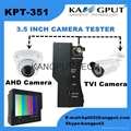 New Product Mini 3.5 Inch CCTV Camera Tester For AHD and TVI