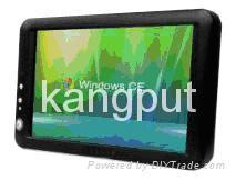 7寸液晶宽屏触摸嵌入式系统带正版WinCE 5 2