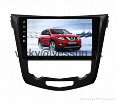 10.2inch Android 4.1 Deckless car navigation system for Nissan Xtrail a Qashqai