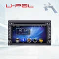 """Double DIN In Dash GPS DVD Player for 6.2"""" universal with Bluetooth A2DP and RDS 1"""